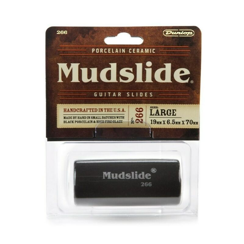 Dunlop Mudslide Porcelain Ceramic Guitar Slide Large 266