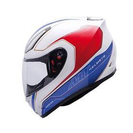 MT Revenge Evo Full Face Motorcycle Crash Helmet white - size M
