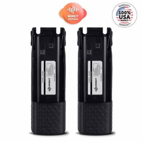2 PCs Baofeng Batteries BL-8 Li ion 7.4V 3800 mAh for UV-82HP, UV-82HPL, UV-82