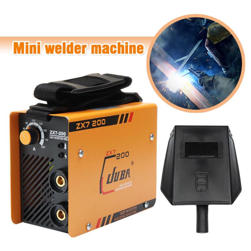 10~200 A Mini Welder MMA ARC Welding Machine DC IGBT Soldering Inverter ZX7-200