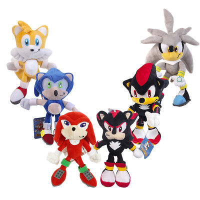 Sonic The Hedgehog Tails Series Silver Sonic Shadow Plush Doll Stuffed Toy US - Tails The Hedgehog