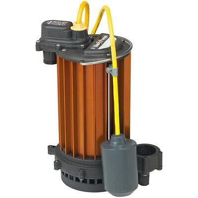 Liberty Pumps Ht453 - 12 Hp Aluminum High Temperature Submersible Sump Pump ...