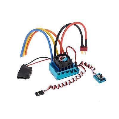 120A Brushless Speed Controller Regler Drehzahlregler ESC für 1/8 Car DE