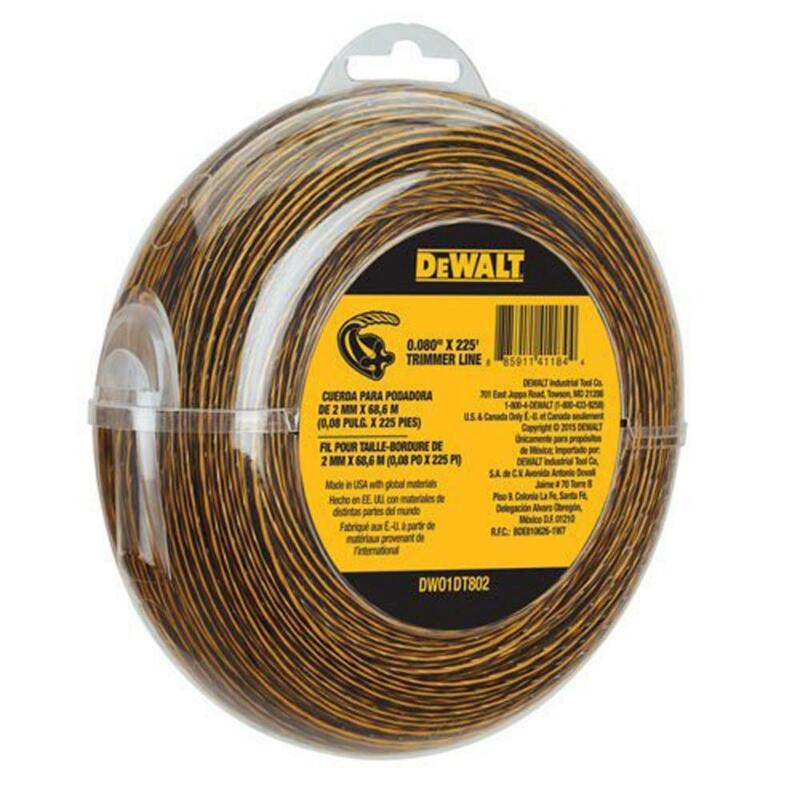 Dewalt 225 ft .080 in Replacement Line Cordless Bump Feed St