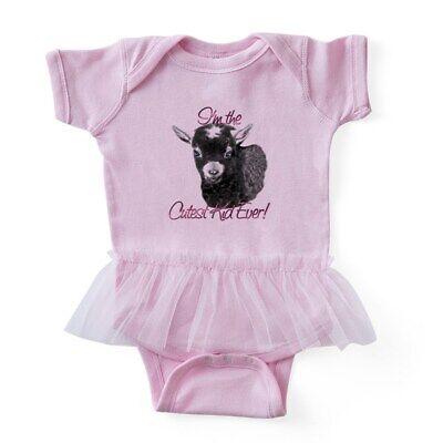 CafePress Goat Cutestpink Baby Tutu Bodysuit