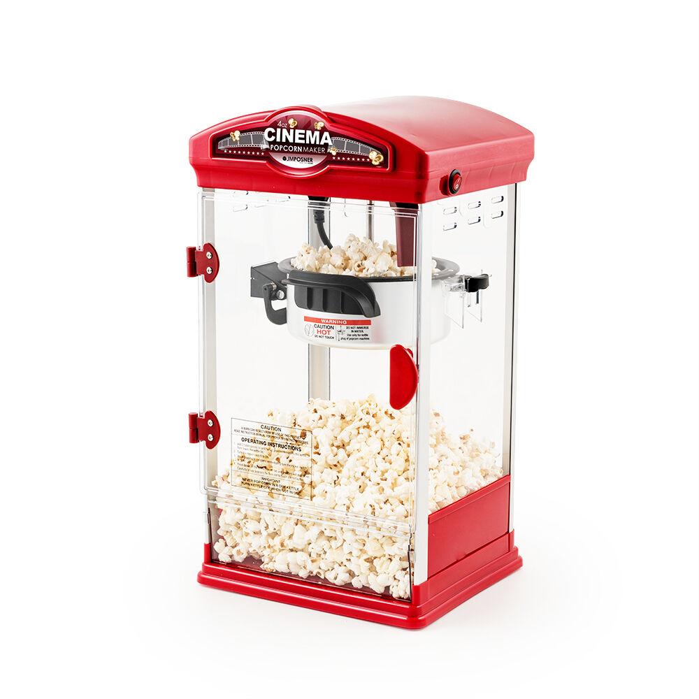 Electric Popcorn Maker ~ Retro oz red cinema popcorn maker electric popper