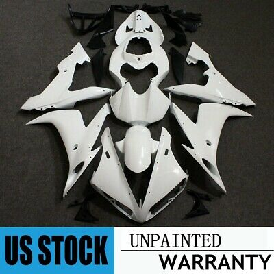 Unpainted Fairing Kit For Yamaha YZF R1 2004-2006 2005 ABS Injeciton Body Work