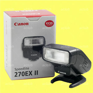 Genuine Canon 270EX II Speedlite Flash 270 EX II *New*