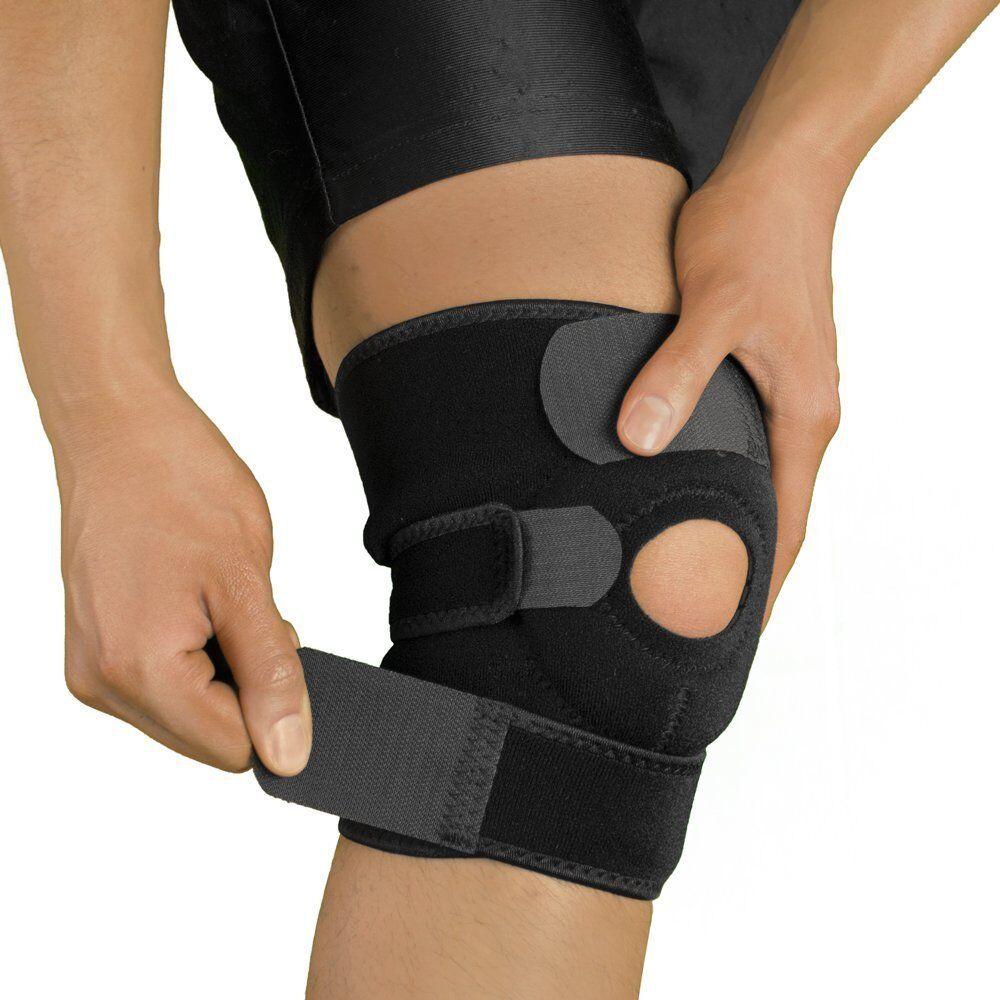 Knee Brace Patella Elastic Fastener Support Kneecap Stabiliz