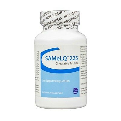 Ceva Samelq 225Mg Liver Support 30Ct Chewable Tablets