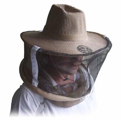 Beekeepers Net Hat Bee Keeper Protection Netting Helmet