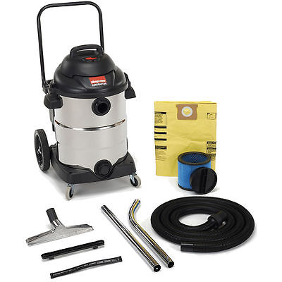 Shop-vac 15-gallon 6.5-hp Stainless Steel Wetdry Vac