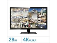 """QVIS 28"""" 4K Ultra HD Security Monitor - LED-4K-28P"""
