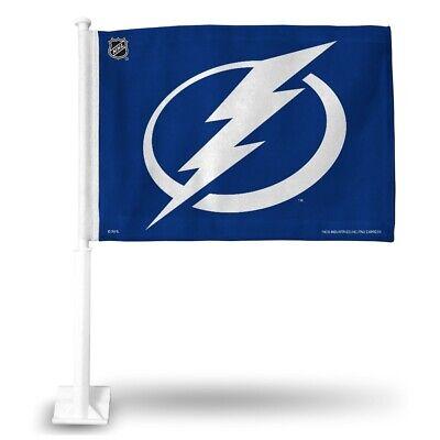 Tampa Bay Lightning NHL 11X14 Window Mount 2-Sided Car Flag Tampa Bay Lightning Window