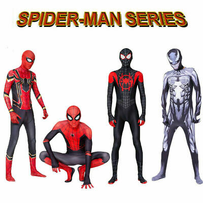Venom / Iron / Miles Morales Spider-Man High Quality Bodysuits Cosplay Costume