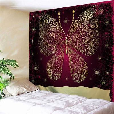 Butterfly Tapestry Wall Hanging - Mandala Butterfly Print Tapestry Art Wall Hanging Decorative Tapestry Bedspread