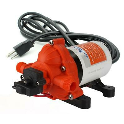 Seaflo Water Pressure Diaphragm Pump Automatic Electric 115 Volt 3.0 Gpm 0.18 Hp