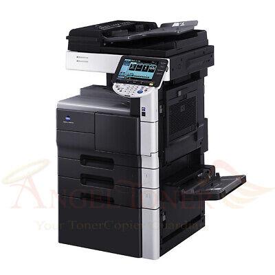 Konica Minolta Bizhub 423 Mono Printer Scanner Copier 42 Ppm Laser Tabloid