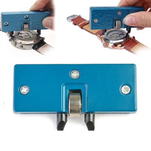 Adjustable Rectangle Watch Back Case Cover Opener Remover Wrench Repair Kit Tool Jewelry & Watches