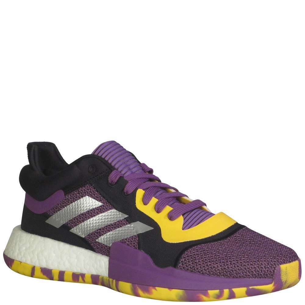Adidas Marquee Boost Low Men's [ Purple ] Basketball - MG27746