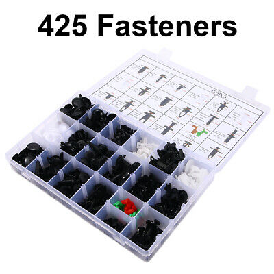 425X Car Body Retainer Assortment Fender Clips Fasteners Removal HIGH QUALITY