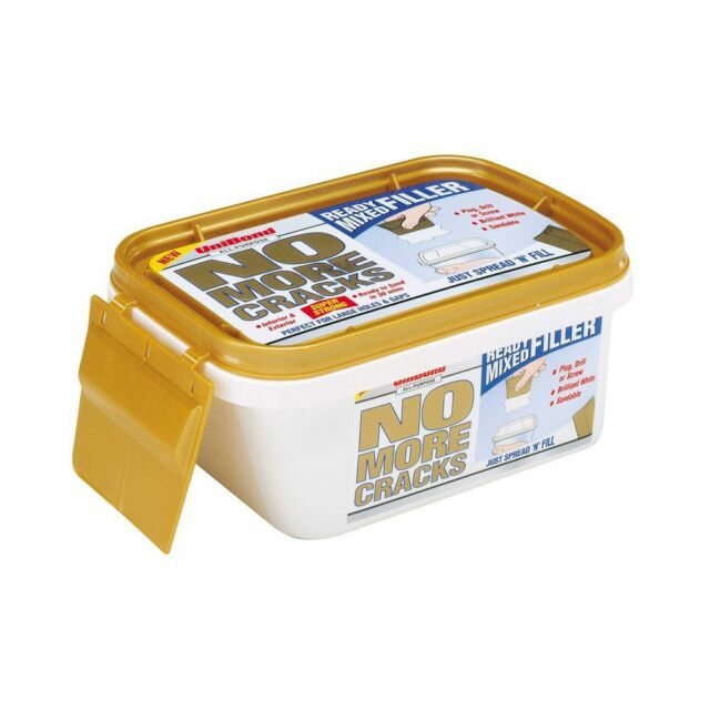 UniBond all Purpose No More Cracks Ready Mixed Wall Filler Tub 600 g DIY Home