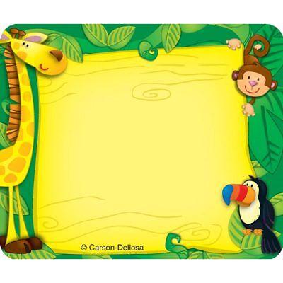 Jungle Name Tags Carson Dellosa CD-150002