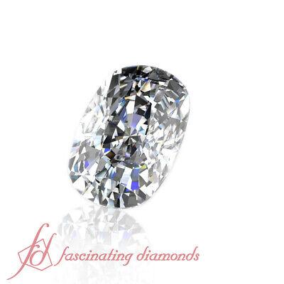 Brilliant Cut Diamond - 0.52 Carat Cushion Cut Diamond - Wholesale Prices - VVS2