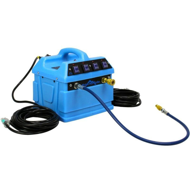 4800 WATTS MYTEE HOT TURBO EXTERNAL HEATER FOR ANY CARPET CLEANING EXTRACTORS