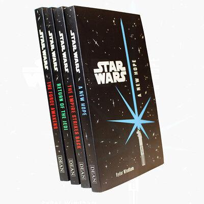 Star Wars Junior Novel Collection Ryder Windham 4 Books Set BRAND NEW Paperback
