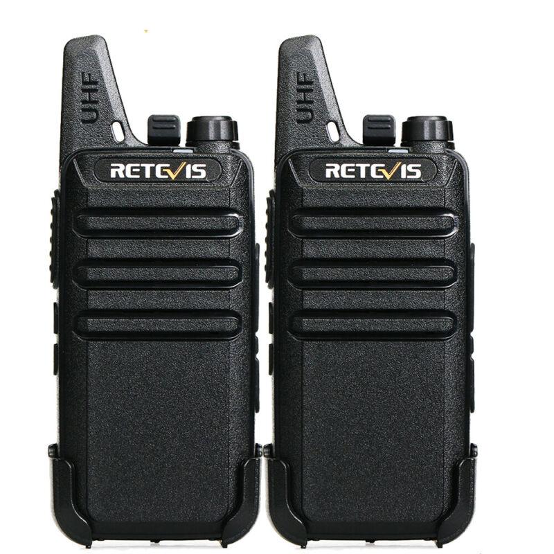 Retevis RT22 Two Way Radios Long Range 2W Walkie Talkies 2W CTCSS/DCS Radios(2X)