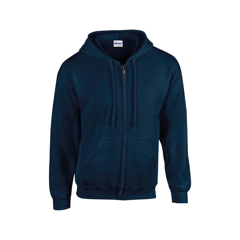 Gildan Heavy Blend Boys Girls Full-Zip Hooded Sweatshirt