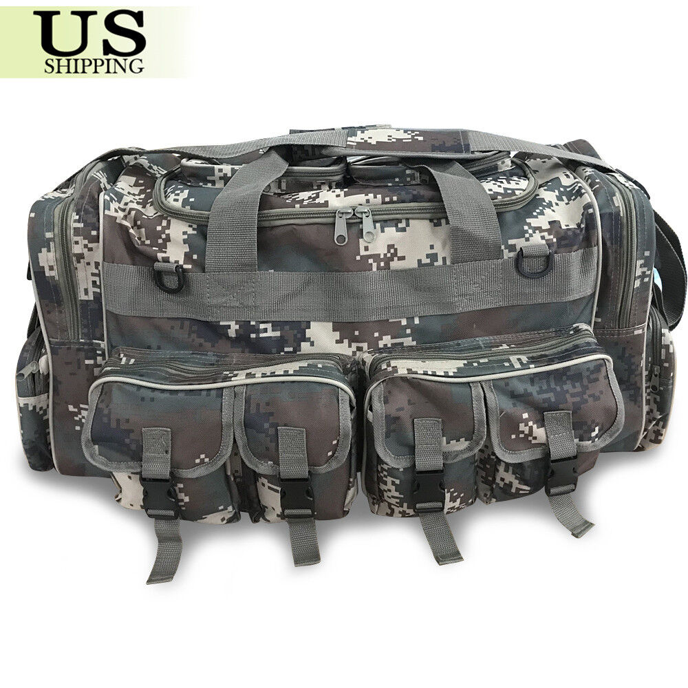 "14998d96d ... Molle Tactical Cargo Gear Shoulder Bag Luggage 30"" Large Men Duffle Bag  Military Molle Tactical Cargo Gear Shoulder Bag Luggage 30"" Large Men Duffle  Bag ..."