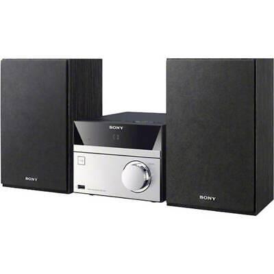 Stereoanlage Sony CMT-SBT20B AUX, Bluetooth®, CD, DAB+, NFC, UKW, USB Schwarz, (Sony Bluetooth Stereo)