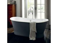 Heritage Madeira Freestanding Cast Iron Double Ended Bath Was £4500 Now £3375