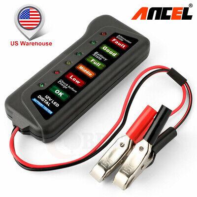 LED 12V Car Battery Load Tester Alternator Battery Analyzer Auto Diagnostic Tool Car Battery Load Tester