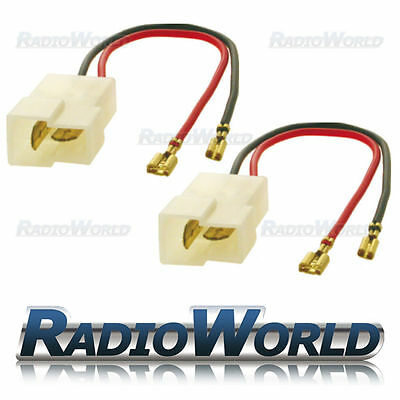 Speaker Adaptor Lead Loom Plug for Subaru / Suzuki  / Mazda / Nissan Pair