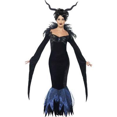 Smi - Halloween Damen Kostüm Hexenkönigin Hexe Vampirin