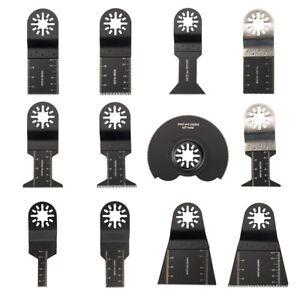 12 Saw Blades Oscillating MultiTool Fein Bosch Dewalt Porter Cable Dremel Ridgid
