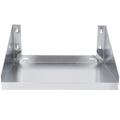 Cmi 18x24 Stainless Steel Kitchen Shelf Microwave Oven Rack Wall Mount Cabinet