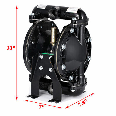 35gpm Air-operated Double Diaphragm Pump 1 Outlet Petroleum Fluids 1 Inlet