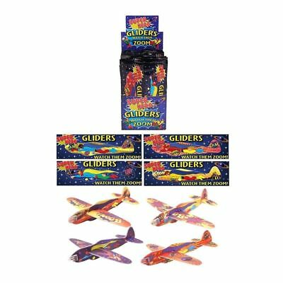 Airplane Themed Birthday Party (Super Hero Flying Glider Kids Theme Birthday Party Loot Bag Filler Fun Toy)