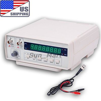 US VC3165 Radio Frequency Counter RF Meter Tester Gauge 0.01Hz~2.4GHz Signals on Rummage