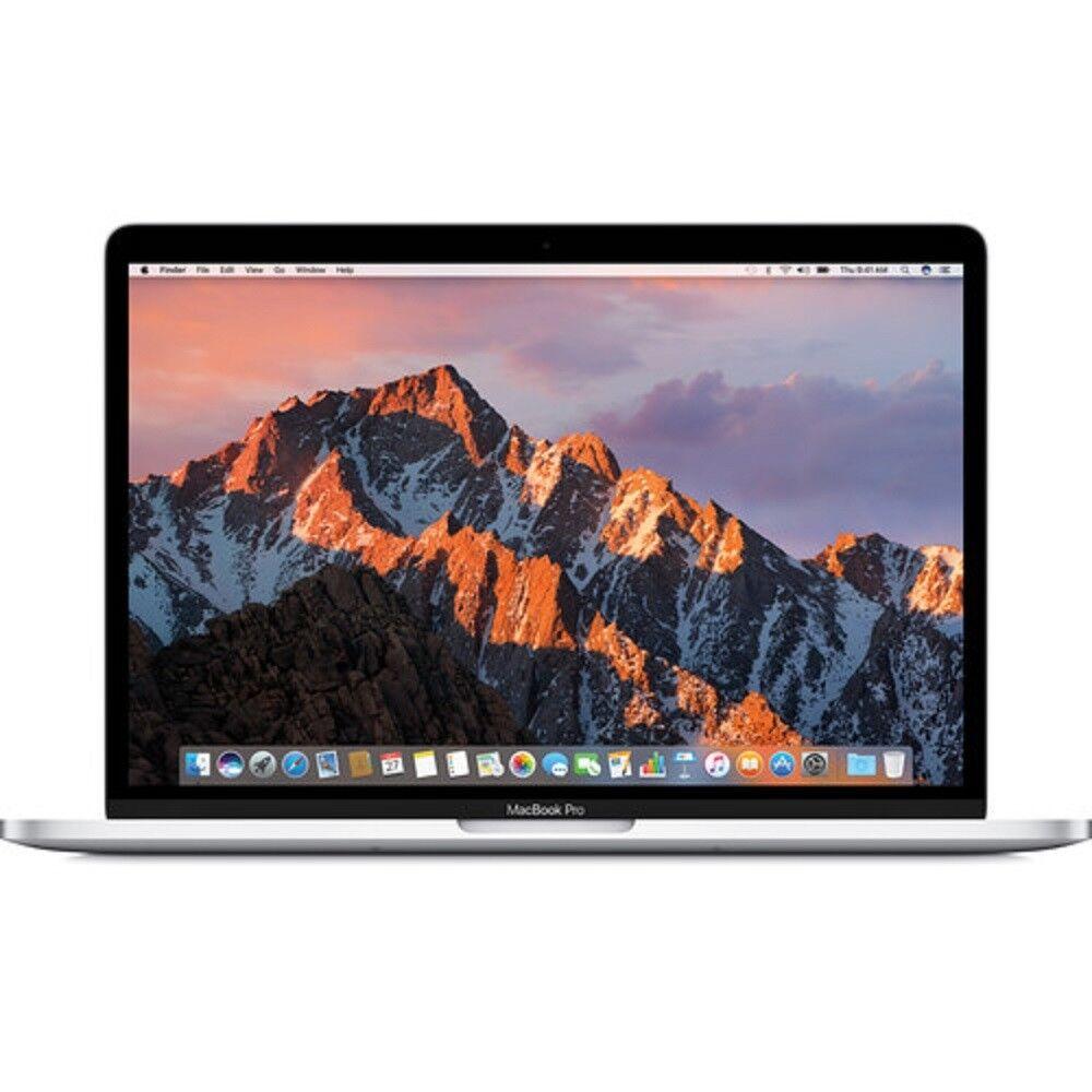 """Apple 13.3"""" MacBook Pro 8GB 128GB SSD (Mid 2017, Silver) MPXR2LL/A"""