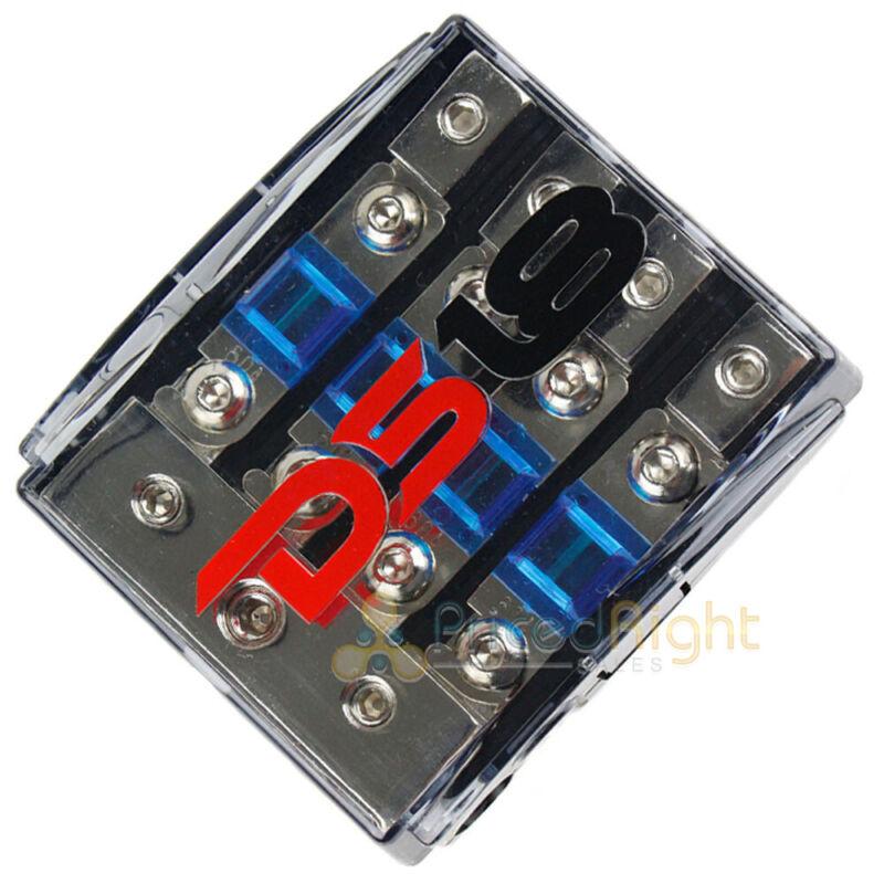 DS18 Mini Anl Fuse Holder 0 4 8 Gauge Input Output FD1024/48AFS-60A Distribution
