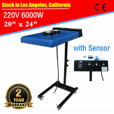 Usa 220v 6000w 20 X 24 Automatic Ir Flash Dryer With Sensor Screen Printing