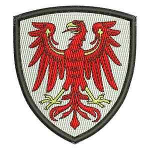 Bundesland-Land-Wappen-aus-Brandenburg-Aufnaher-Patch-Aufbugler-ansehen-ansehen