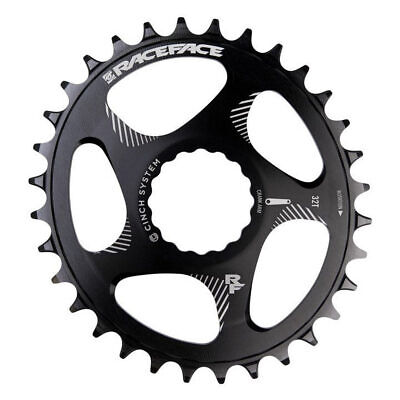 Absolute Black GXP Oval Direct N//W Chainring Direct Gxp 34t Bk