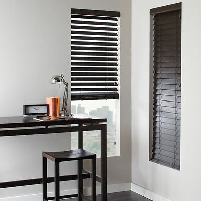 Shutter Look Faux Wood Blinds 4 Colors Free Shipping