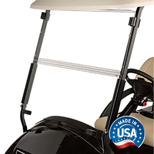 Club Car Precedent Clear Fold Down Golf Cart Windshield - US Made